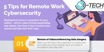 OTech - 5 Tips For Remote Work Cybersecurity